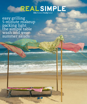 Real Simple June/July 2000 cover