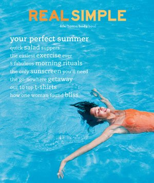Real Simple June/July 2001 cover