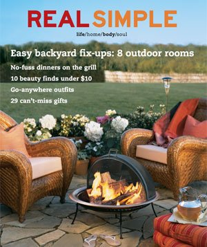 Real Simple June/July 2003 cover