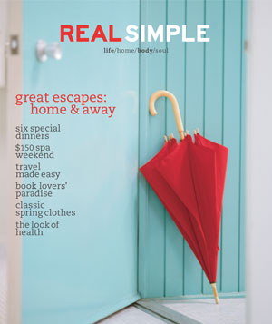 Real Simple March 2001 cover