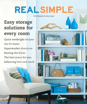 Real Simple March 2002 cover