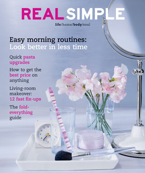 Real Simple March 2003 cover