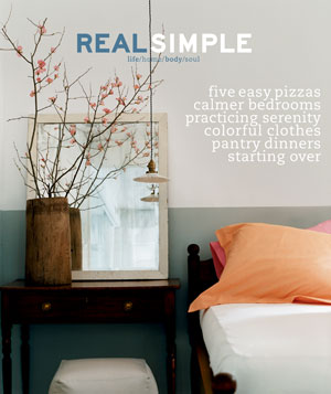 Real Simple May 2000 cover