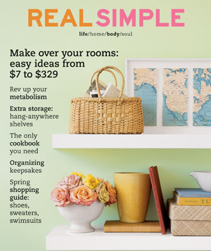Real Simple May 2003 cover