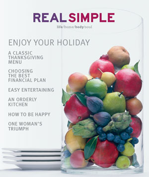 Real Simple November 2000 cover