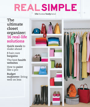 Real Simple October 2003 cover