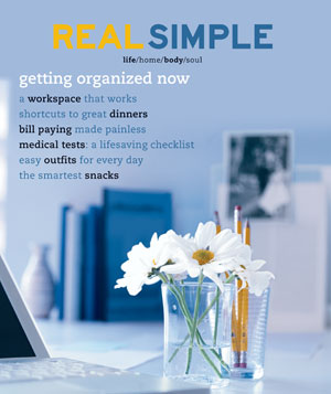 Real Simple September 2001 cover