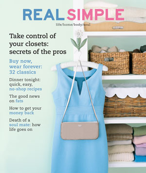 Real Simple September 2002 cover