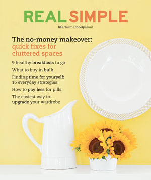 Real Simple September 2003 cover