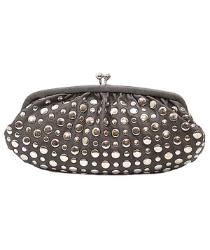 Studded Clutch by Harmony Lane