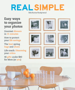Real Simple May 2002 cover