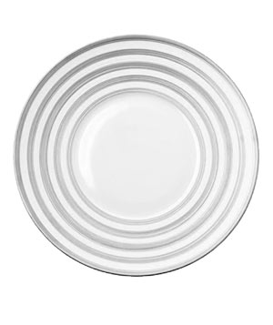 Hemisphere Platinum Stripe by J. L. Coquet tableware