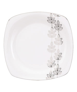 Lifestyle Fine Platinum Leaf by Lenox tableware