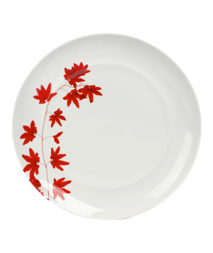 Pure Red by Mikasa tableware