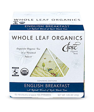 Choice Organic Teas Whole Leaf Organics English Breakfast