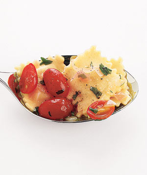 Ravioli With Grape Tomatoes and Wine