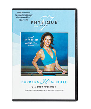 Physique 57 Express 30 Minute Full Body Workout dvd