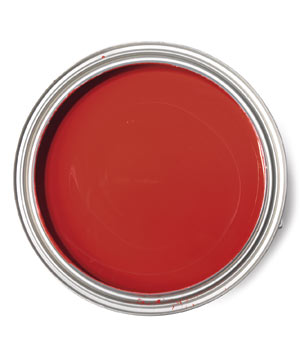 Benjamin Moore Currant Red paint