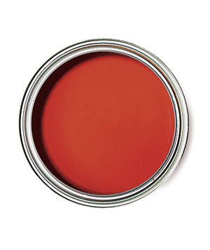 Sherwin Williams Habanero Chile paint