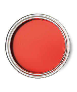 Benjamin Moore Ravishing Red paint