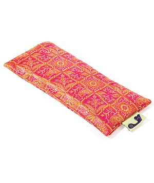 Barefoot Yoga Co. Silk Sari eye pillow