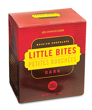 Specialty Whole Foods Market Belgian Dark Chocolate Little Bites