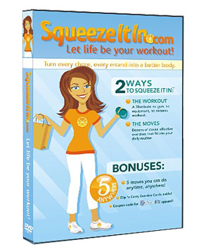 """Squeeze It In"" DVD"