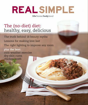 Real Simple February 2005 Cover