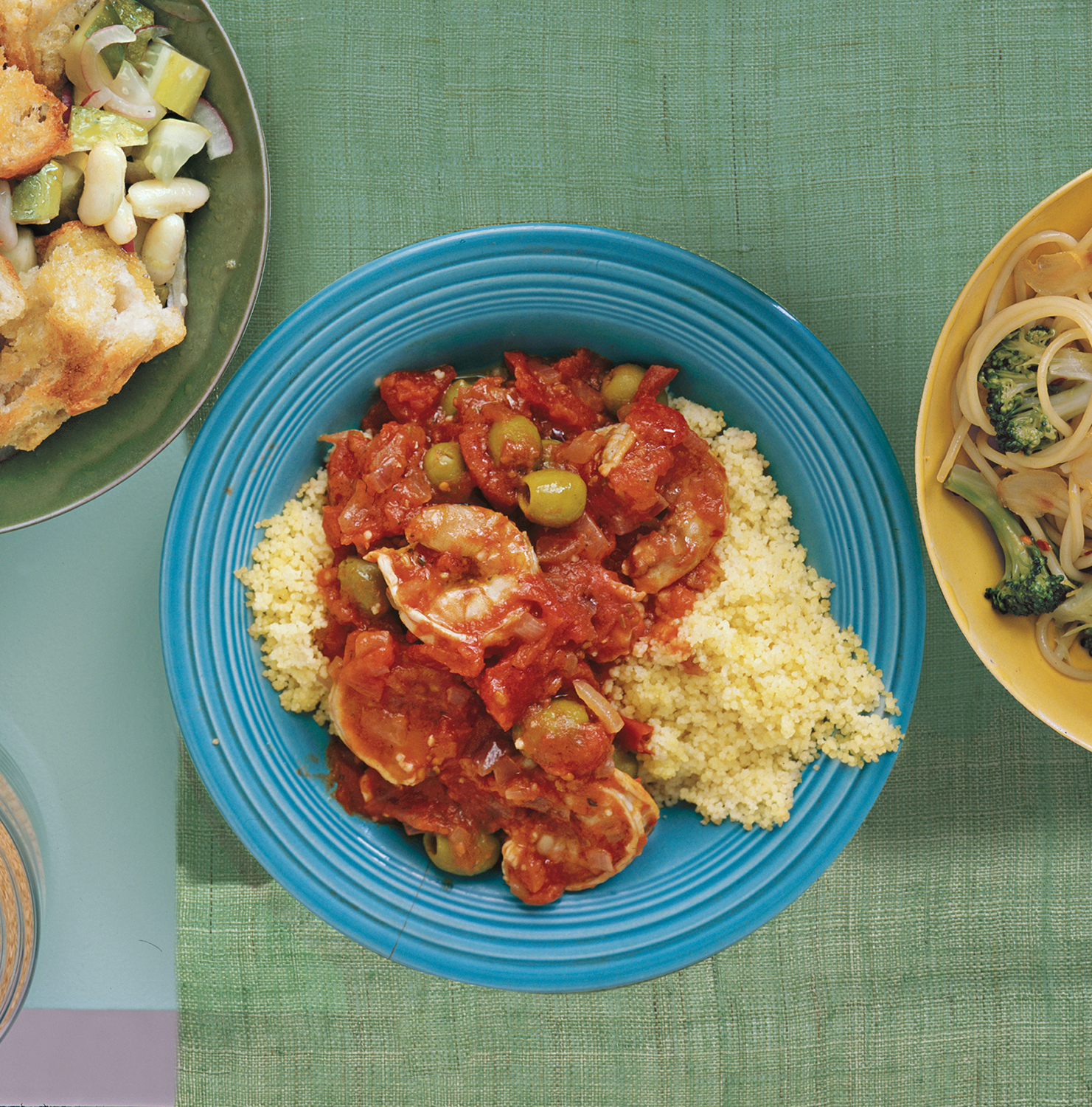 Simple Dinner Ideas: Shrimp With Tomatoes and Olives
