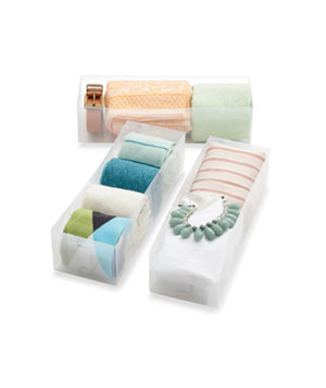 Drawer 3-Piece Organizer Set