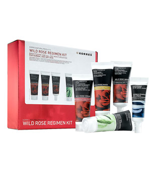 Korres Wild Rose Skin Regimen Kit