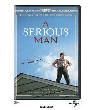 """A Serious Man"" DVD"