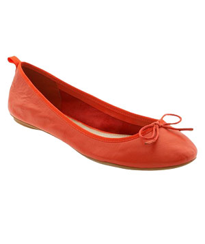 Leather Ballet Flat by Gap