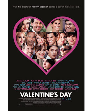 "The movie ""Valentine's Day"""