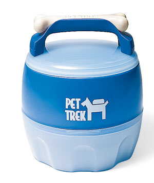 Pet Trek Traveler food and water bowl