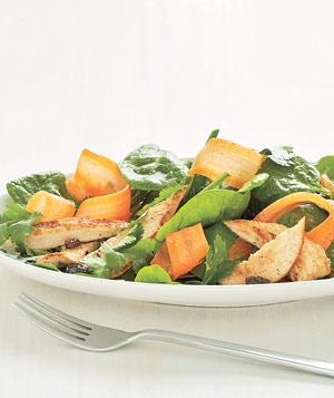 Moroccan Chicken Salad With Carrots