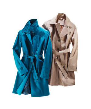 Trench coats for large busts