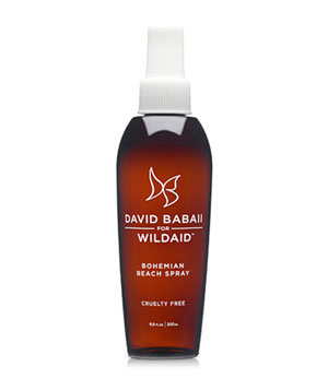 David Babaii for WildAid Bohemian Beach Spray