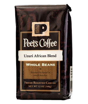 Peet's Coffee Uzuri African Blend coffee beans