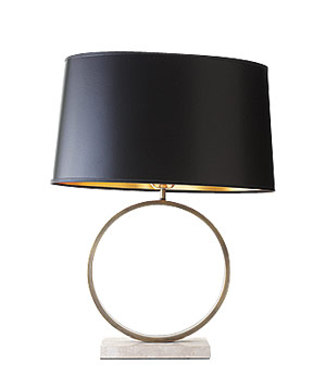 Mitchell Gold + Bob Williams art deco-inspired lamp