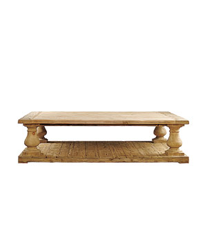 Balustrade table