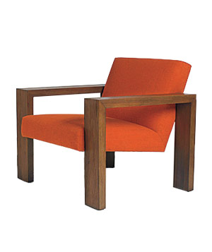 Calvin Klein wood-frame floating chair
