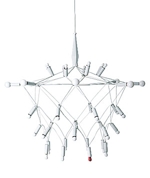 Orbit chandelier by Patrick Townsend