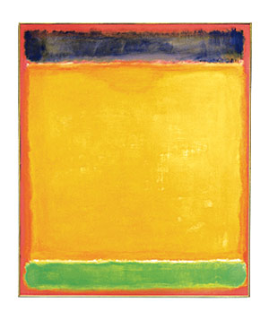 Rothko: Untitled graphic print from MOMA