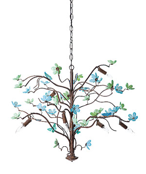 Butterfly and Blossom fixture by Canopy Designs