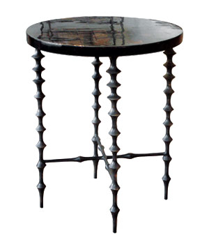 Vintage Eclectic: Turned-Leg Table