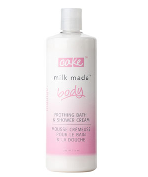 Cake Beauty Milk Made Body Frothing Bath and Shower Cream