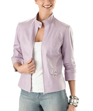 Pebbled Luxe Sass Jacket by Chico's