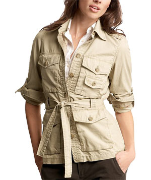 The Belted Utility Jacket by Gap