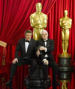 Alec Baldwin and Steve Martin host the Oscars